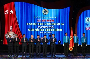 90-year anniversary of Vietnam Trade Union's founding day